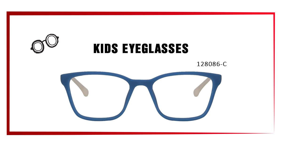 4 - 128086-C KIDS EYEGLASSES: