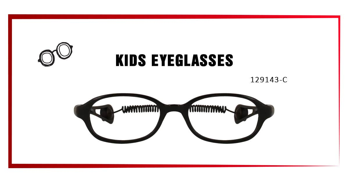 1 - 129143-C KIDS EYEGLASSES: