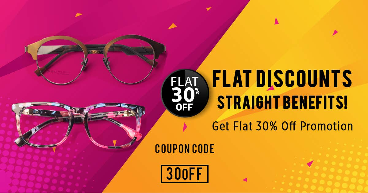 Flat Discount Are Straight Benefits - The Flat 30% Off Promotion