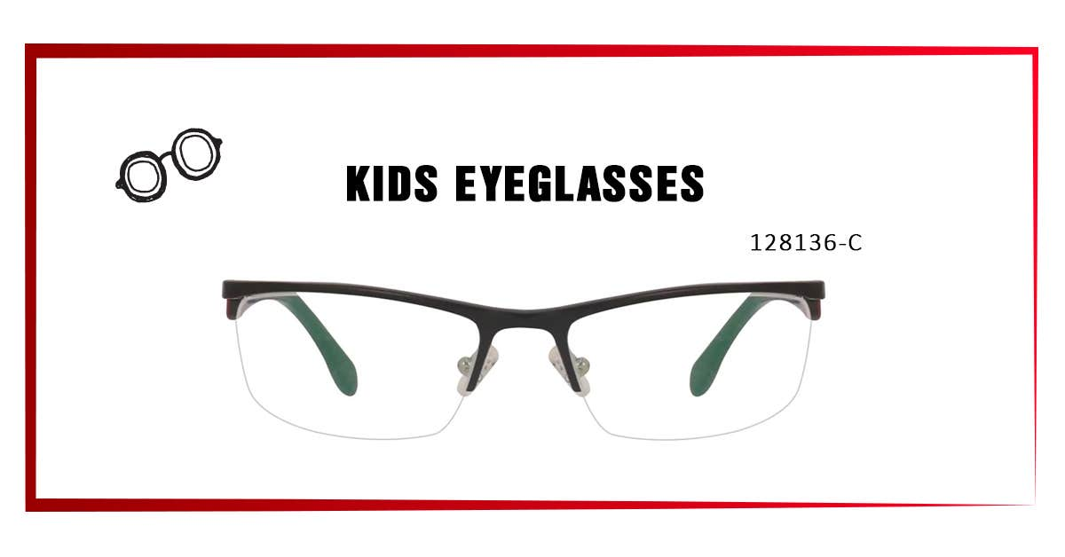 128136-C KIDS  EYEGLASSES
