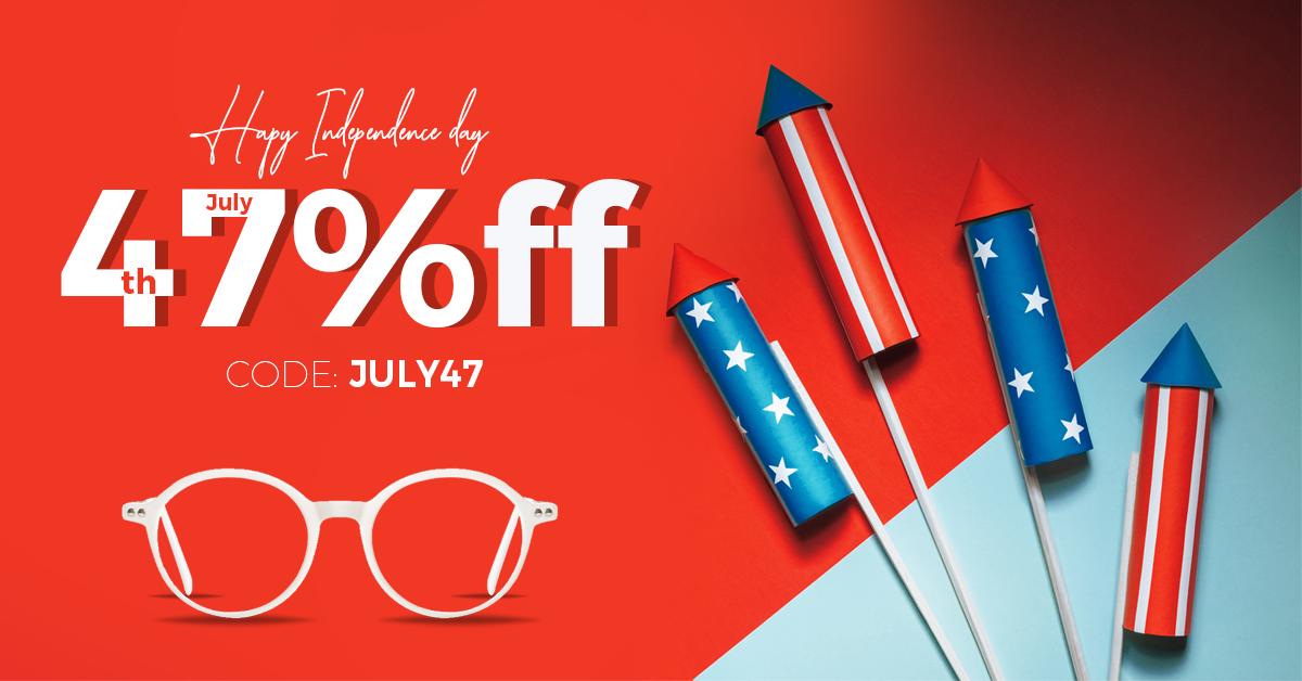4th of July: Avail 47% Off On Your Glasses At Goggles4U