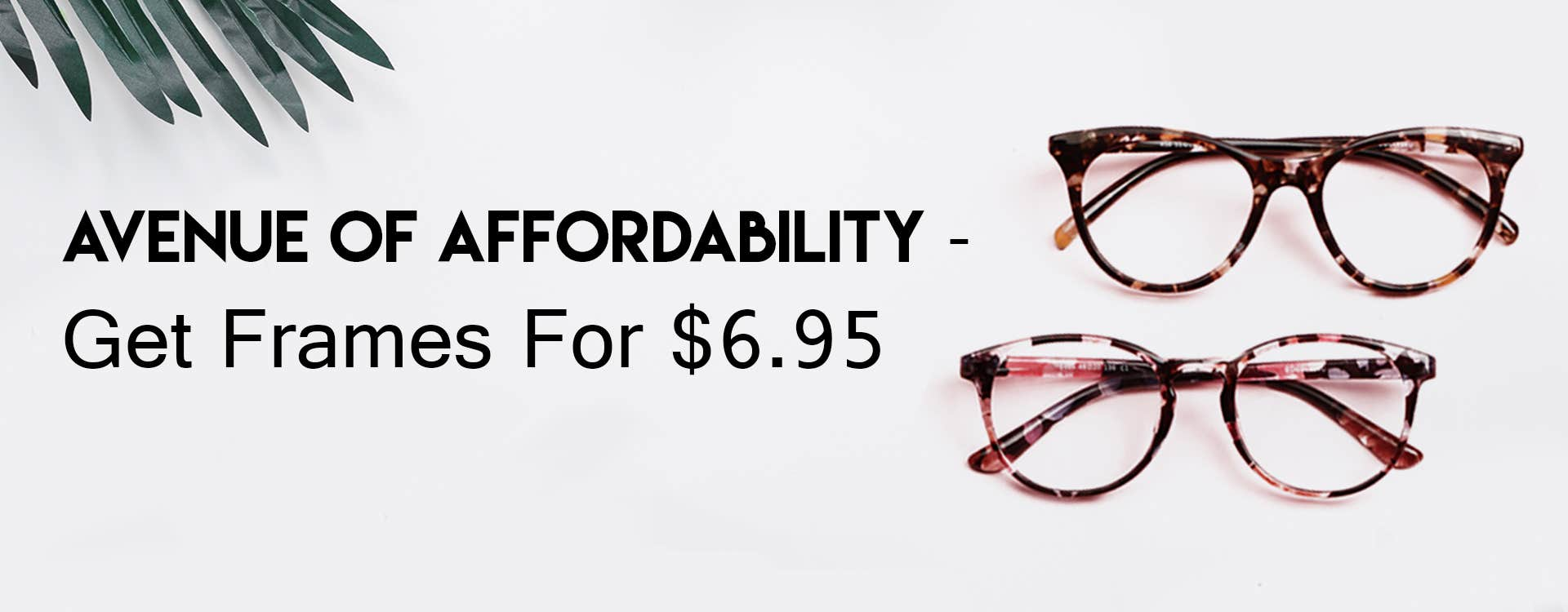 Avenue of Affordability - Get Frames For $6.95