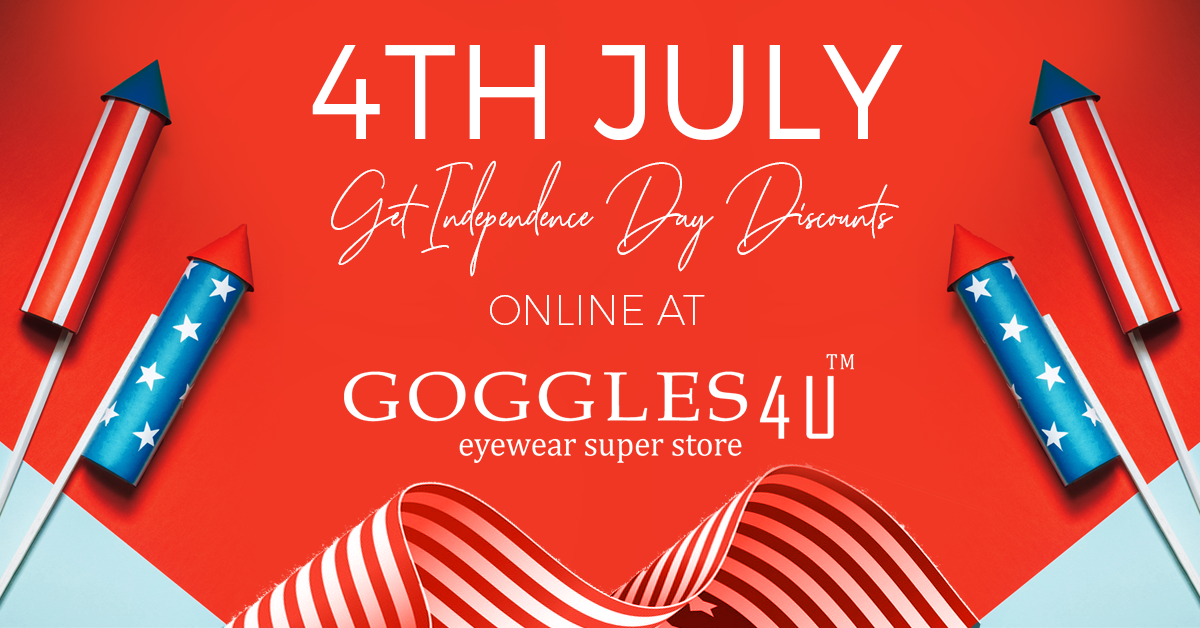 4th July: Get Independence Day Discounts Online At Goggles4U